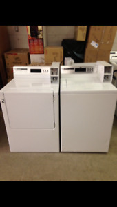 Commercial Heavy Duty Coin Operated Washers and Dryers