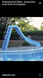 Looking to buy an inground pool slide
