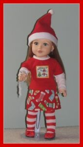 XMAS DOLL CLOTHES