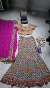Bridal/special occasion lengha PRICE DROP