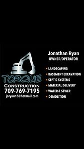 Excavation,Landscaping,septic install,demolition,rock busting St. John's Newfoundland image 1