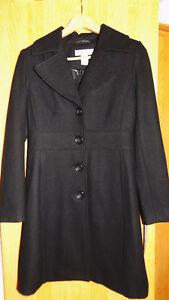 New wool blend  pea coat Size Small,but fits like Extra small