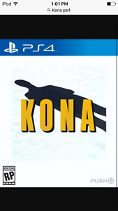 Looking for the game Kona (PS4)