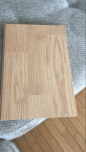 Looking for laminate flooring boards.