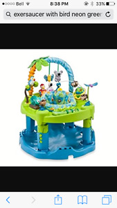 Evenflo triple fun exersaucer
