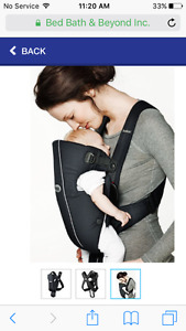 Baby BJorn Carrier in Black