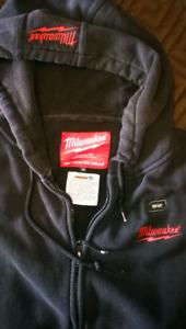 Milwuakee XL heated hoodie