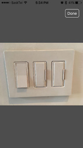 Lutron switches and plugs