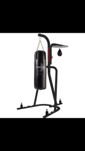 Century Heavy Bag and Speed Bag Platform with 100lbs Heavy Bag