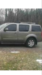 SOLD !!!2005 Nissan Pathfinder Le Leather 7 PSGR  SUV, Crossover