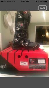 Fox motocross boots size 12