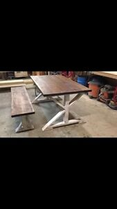 Harvest Tables! Free console or coffee table