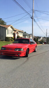 1988 Ford Mustang GT Hatchback with rare t top!