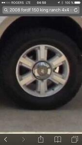 RIM + pneus Ford F-150 king ranch