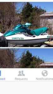 For sale 1998 720 gti seadoo excellent condition