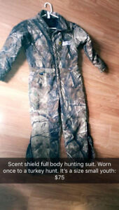 scent shield full body hunting suit