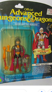 Looking for 80s dungeons and dragons action figures.