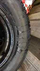 4 Bolt Universal Snow Tires 195/60R14 London Ontario image 2