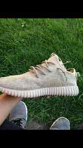 Yeezy boost 350 black,tan and moonrock