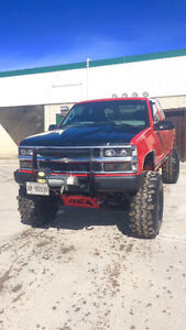 One of a kind lifted Chevy z71!