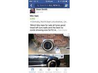 "Bbs wheels reps 19"" inch"