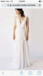 "Truvelle original wedding gown - the ""Michelle"""