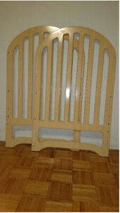 Drop-Side Baby Crib for Sale (with FREE Mattress)