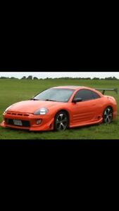 2001 Mitsubishi Eclipse GT  5 speed