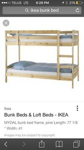 IKEA bunk bed 1 year - old!