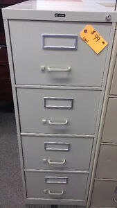 Used 4 Drawer Vertical in Putty
