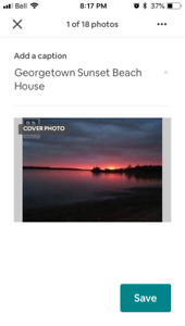 Georgetown Sunset Beach House $275/night
