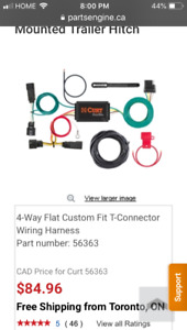 Buick Encore wire harness kit for trailer