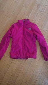 Girls North Face Fall/Spring Jacket - size 10/12