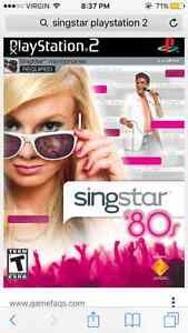 Singstar for play station 2,3 disks,2 mics  all included London Ontario image 2