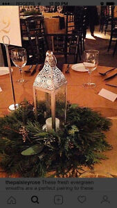 Wedding lantern centrepieces