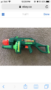Air Blasters Automatic Tommy 20 Nerf Gun