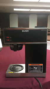 Two Bunn commercial coffee makers