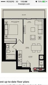 INDX CONDOS - BRAND NEW 1 BEDROOM WITH UNOBSTRUCTED CITY VIEWS!!