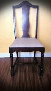ANTIQUE FRENCH PROVINCIAL ACCENT CHAIR