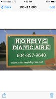 Weekend care Mommy's daycare Aldergrove