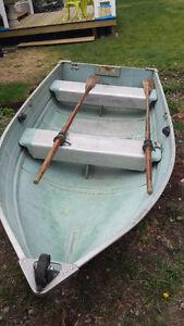 Aluminum 10' boat