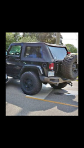 Soft top made by best tops for 2dr jeep