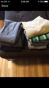 8 pairs pants 1 pair shorts