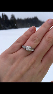 1.00CTW Engagement Ring