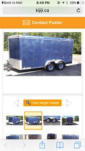 2004 7x14 Enclosed trailer