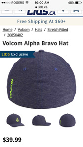 Volcom L-XL flexfit hat