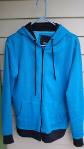 Urban Heritage Full Zip Hooded Sweatshirt size S