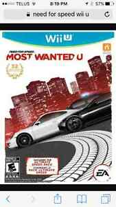 Need for Speed Most Wanted for Wii U