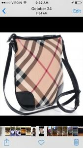 Burberry Crossbody and Wallet