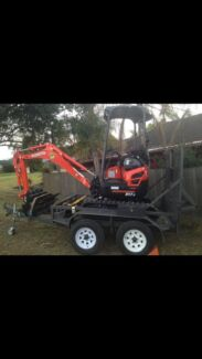 Mini excavator for hire dry hire